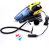 LPY-Four In One Car Air Pump / Vacuum Cleaner Wet And Dry Multi-Purpose 12V Tire Inflator