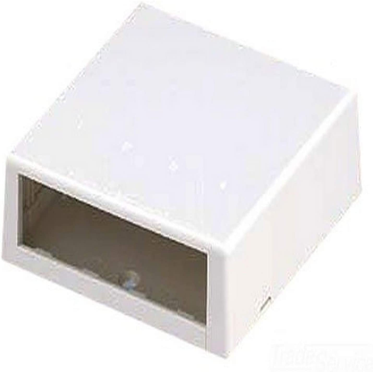 Panduit CBXC4EI-A 4-Port Surface Mounting Box for LDP5 Fitting Electric Ivory
