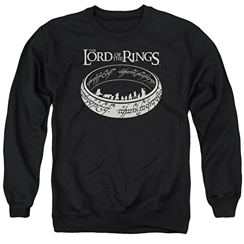 Jumper Ring - Crewneck Sweatshirt: Lord Of The Rings- Ring Journey Size XXL