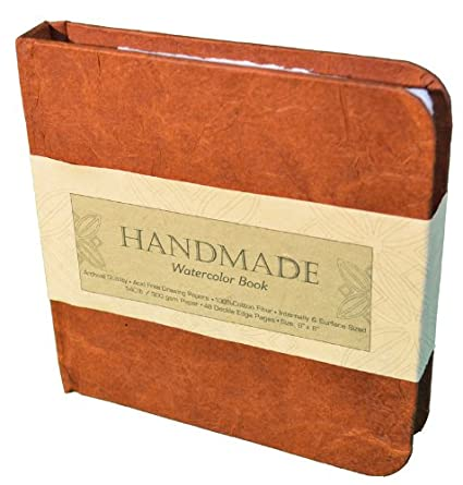 9-Inch-by-6-Inch Global Art Materials Hand-Book Journal Handmade Watercolor Book Landscape