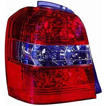 Amazon Toyota Highlander Replacement Tail Light Unit Driver. Depo 3121953lus Toyota Highlander Driver Side Replacement Taillight Unit Without Bulb. Toyota. 2001 Toyota Highlander Tail Light Wiring At Scoala.co