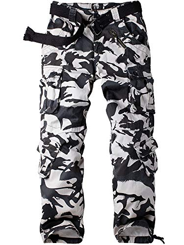 Women's Tactical Pants, Casual Cargo Work Pants Military Army Combat Trousers 8 Pockets