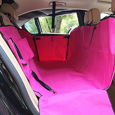 Una sola planta de tela Oxford vehículos mascotas Pet bruto mat pad ALFOMBRILLA DE COCHE colchones, perro rojo: Amazon.es: Deportes y aire libre