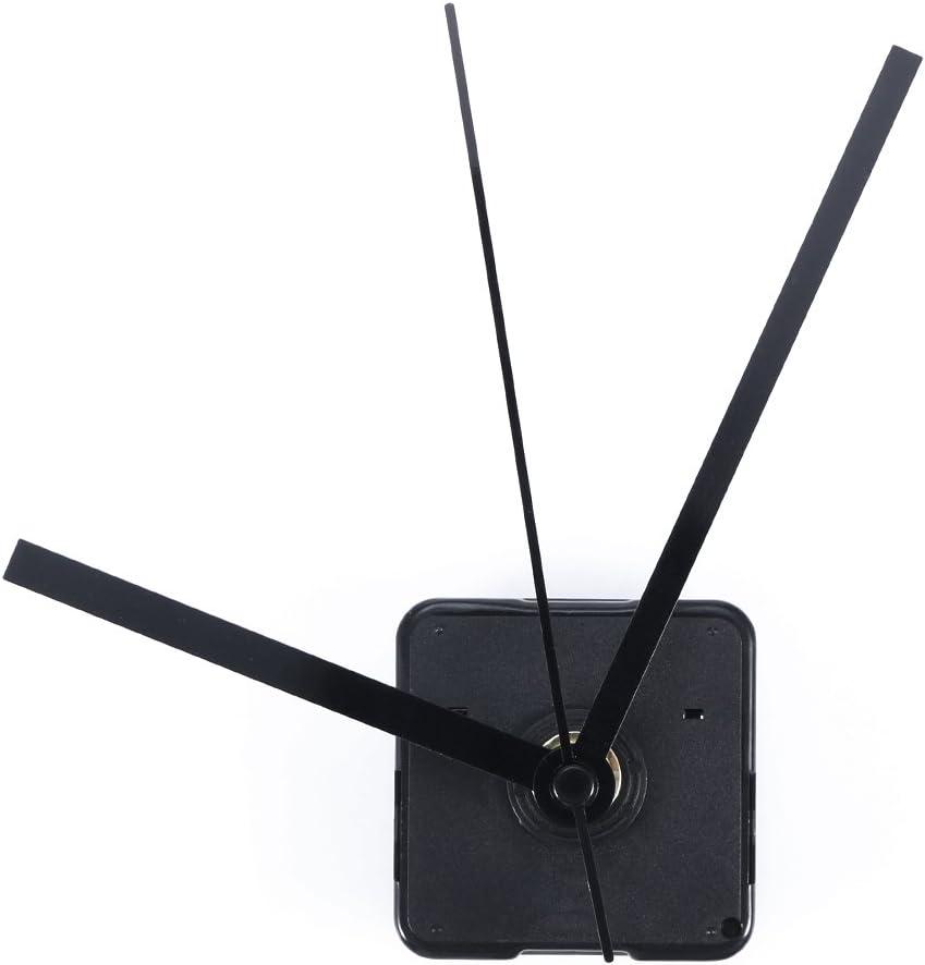ROSENICE DIY Mecanismo de Reloj Cuarzo Movimiento Silencioso para Decoración de Casa Oficina