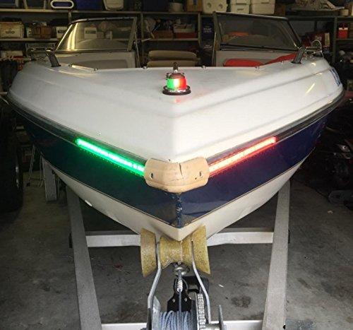 Boat Bow Led Lighting Red Amp Green Kit Lakehouselifer