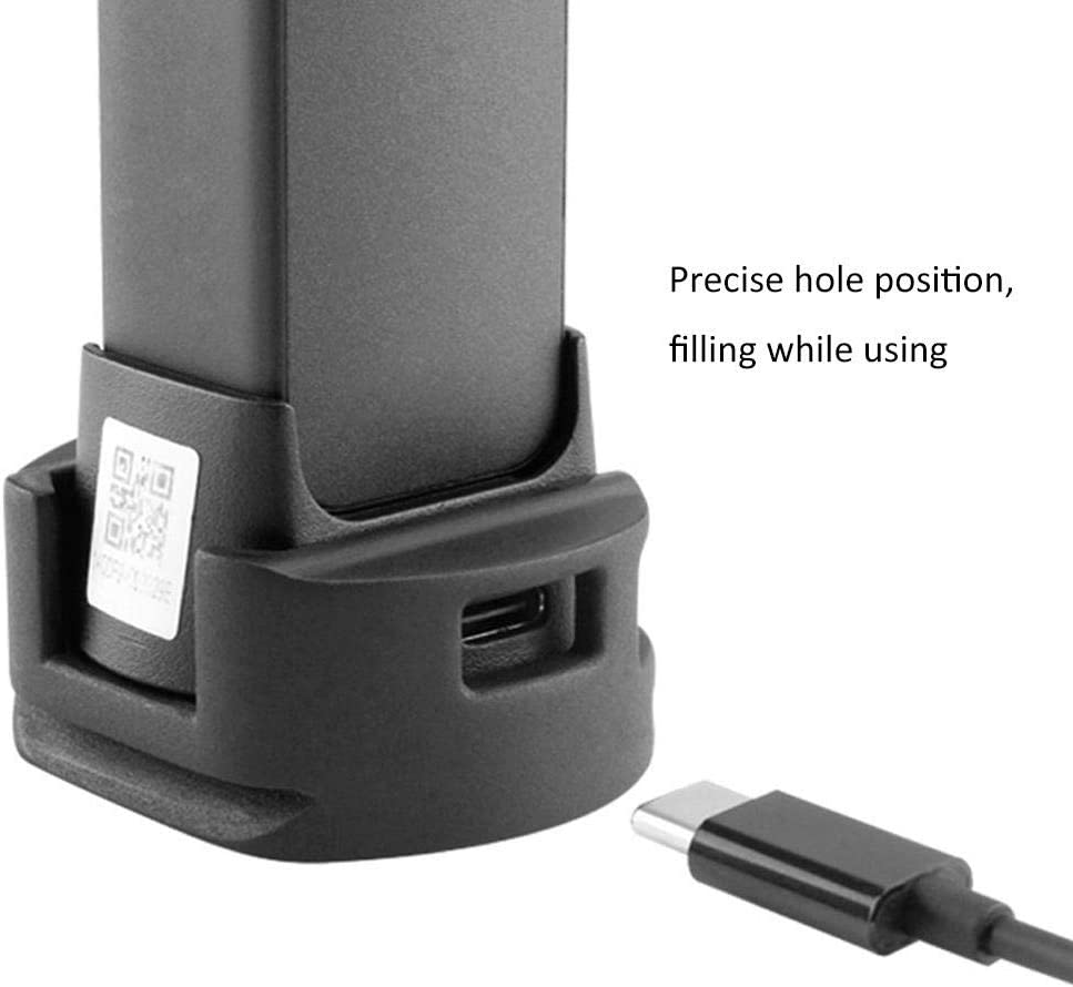 Vbestlife Tripod Adapter Base Holder Tripod Mount Stand with 1//4 Screw Thread for DJI Osmo Pocket Charging Base Mount Accessory.