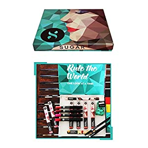 SUGAR Cosmetics EYE SPY LIPS DON'T LIE MAKEUP BOX, 100 gms