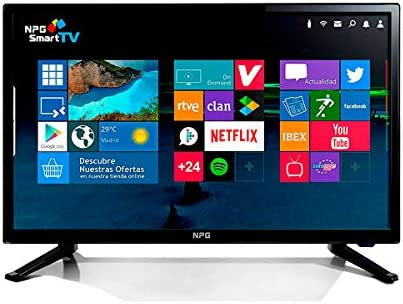 TELEVISOR SMART TDT2 MOD S411L28H NPG: Amazon.es: Electrónica