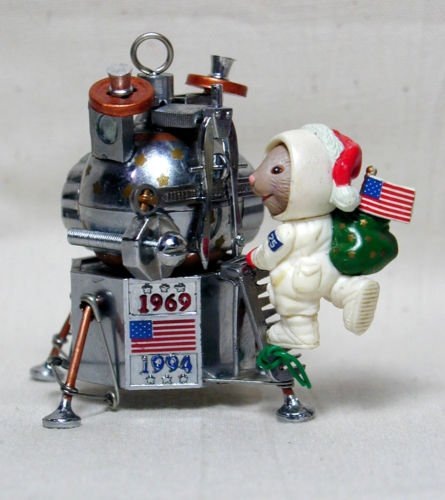 1st Lunar Landing (One Small Step - Lunar Landing Ornament)
