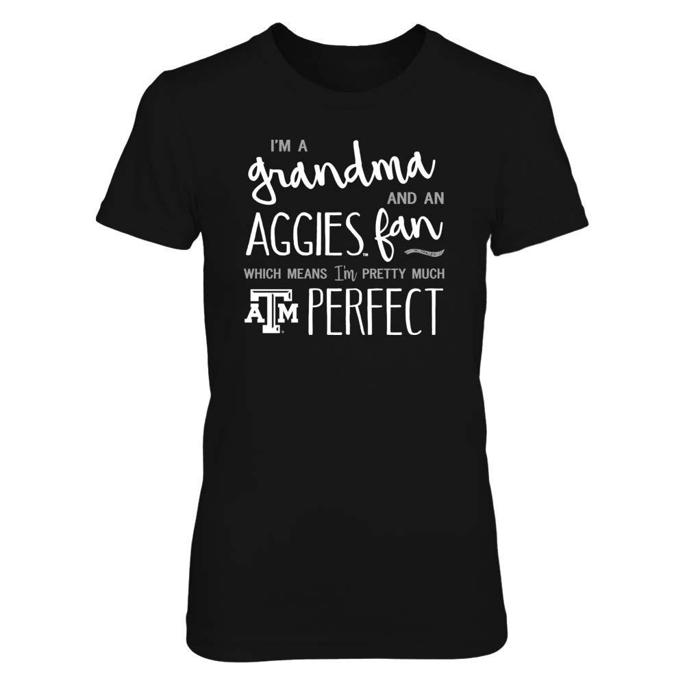 FanPrint Texas A/&M Aggies T-Shirt Perfect GrandmaFan T-Shirt Tank Hoodie