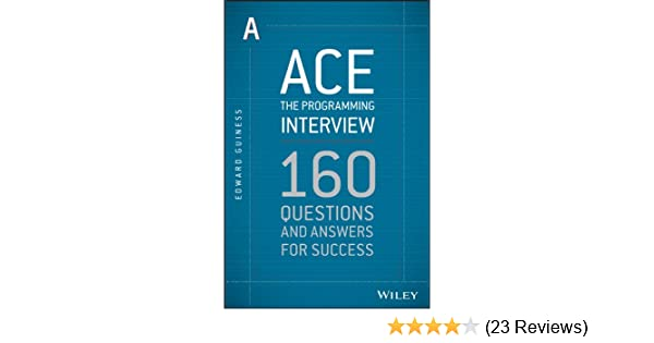 Amazon com: Ace the Programming Interview: 160 Questions and Answers