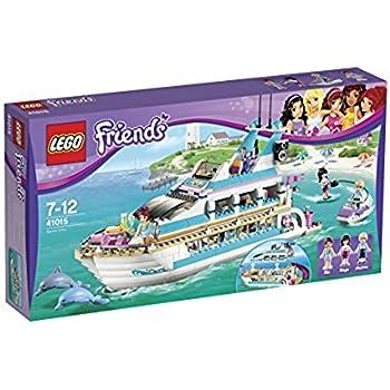Amazoncom Lego Friends Set 41056 Heartlake News Van Toys Games