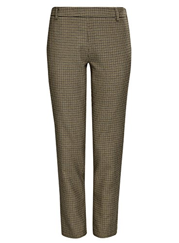 Beige Pantaloni Laterale 3329c oodji con Ultra Zip Stretti Donna Uw0vEx6