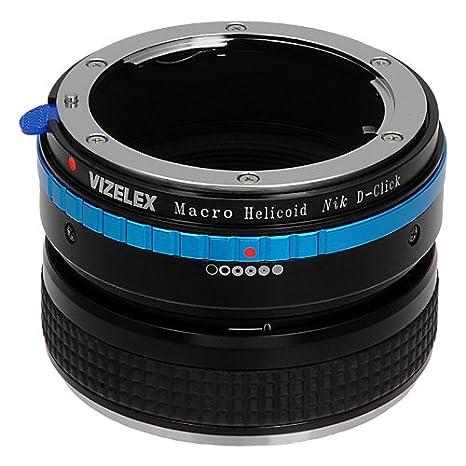 Para enfoque Vizelex helicoidal para Nikon G y DX para lentes ...