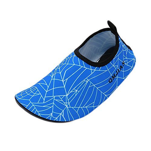Men's Aqua Yoga Socks Pool for Blue Swim Water Exercise Bonboho Shoes Skin Unisex Beach Barefoot Women Surf U48q70S