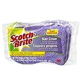 Scotch-Brite Stay Clean Scrub Sponge, 3-Pack