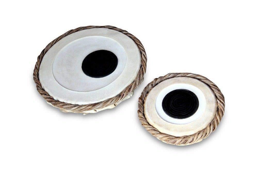 Tabla Dayan and Bayan Head (5.5 inch Dayan and 9.5 inch Bayan)