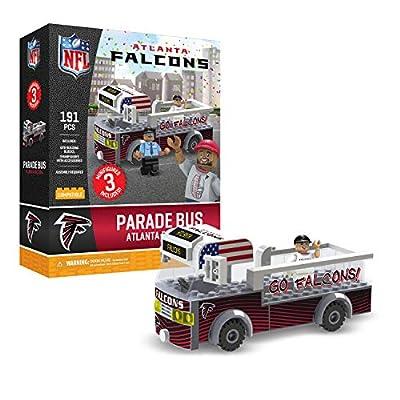 Atlanta Falcons OYO Sports Toys Parade Bus Set with 3 Minifigure 191PCS