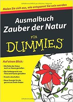 Ausmalbuch Zauber der Natur (Für Dummies)