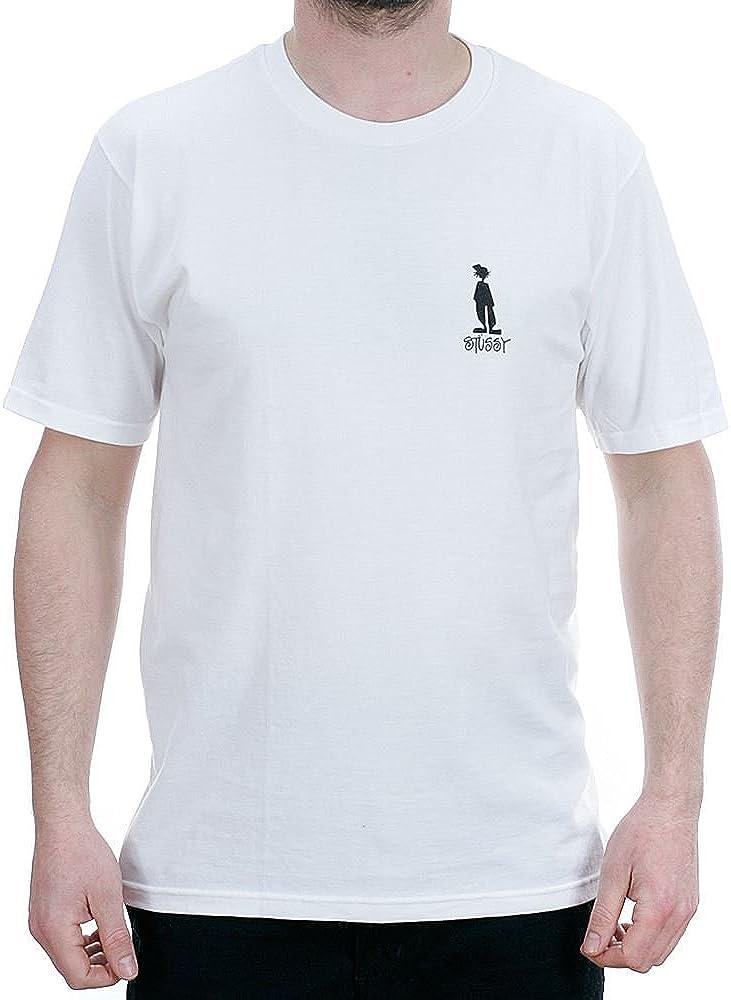 Stussy Camiseta STÜSSY RAGGAMON Tee Hombre Blanco XL: Amazon.es: Ropa y accesorios