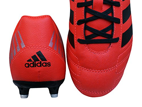 Adidas Regulate Kakari SG Bota de Rugby Junior Rojo/Negro