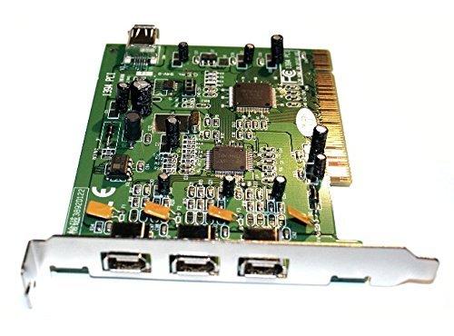 Amazon.com: 1394 PCI Controller cuatro puertos Firewire – 3 ...