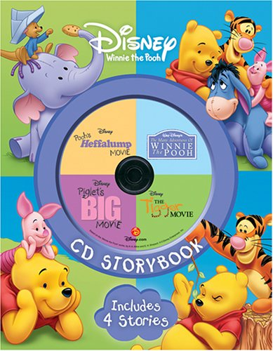 Disney Winnie the Pooh CD Storybook: The Many Adventure of Winnie the Pooh / Piglet's Big Movie / Pooh's Heffalump Movie / The Tigger Movie