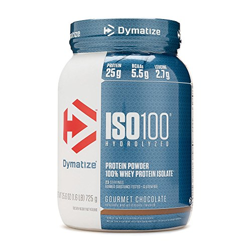 Dymatize ISO 100 Hydrolyzed Whey Protein Isolate – Gourmet Chocolate 1.6 lbs
