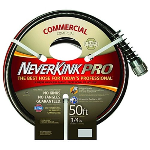 Neverkink 9844-50 Series 4000 Commercial Duty Pro Garden Hose, 3/4-Inch by 50-Feet