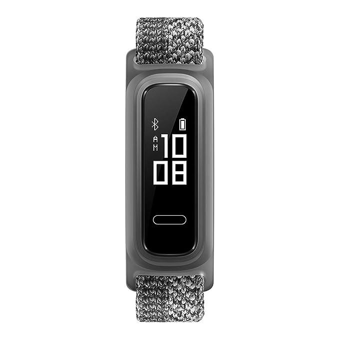 Huawei Band 4e - Pulsera de actividad de elegante diseño con modo Basket, 2 semanas de batería, resistencia al agua 5ATM, sensor de movimiento de 6 ...