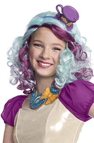 Rubies-Costume-Co-Ever-After-High-Madeline-Hatter-Wig-with-Headpiece