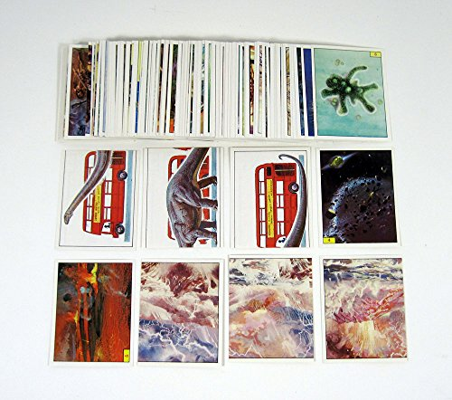- 1992 Panini Prehistoric Animals Dinosaurs Album Sticker Set (180) Nm/Mt