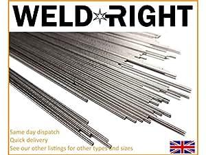 Weldright 100X Acero Inoxidable ER316L SS Electrodos De ...