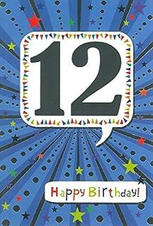 Age 12 Boy Birthday Card