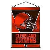 Fremont Die NFL Cleveland Browns Wall Banner, Orange