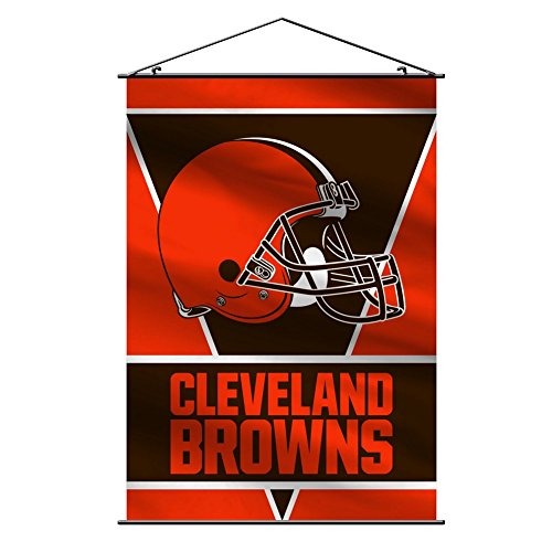 eland Browns Wall Banner, Orange ()