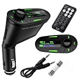 Newtronics Wirelss Digital Car MP3 Player FM Transmitter Modulator USB SD AUX MMC With Remote