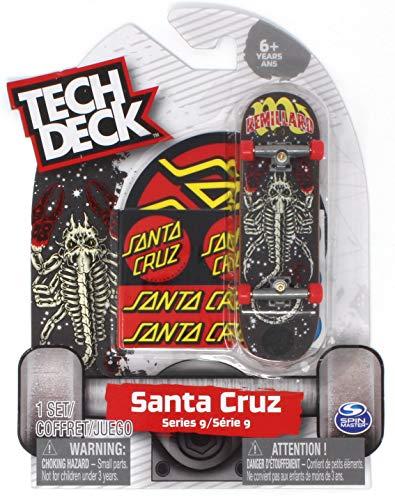 Tech Deck Santa Cruz Skateboards Rare Series 9 Tom Remillard Zodiac Fingerboard (Stickers Santa Cruz)