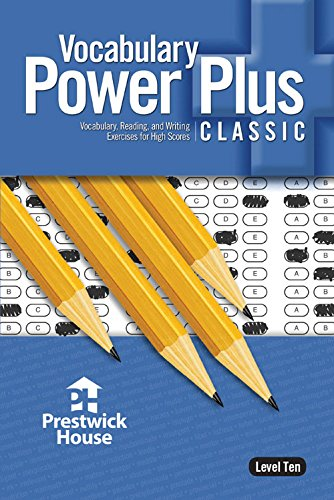 Vocabulary Power Plus Classic - Level 10