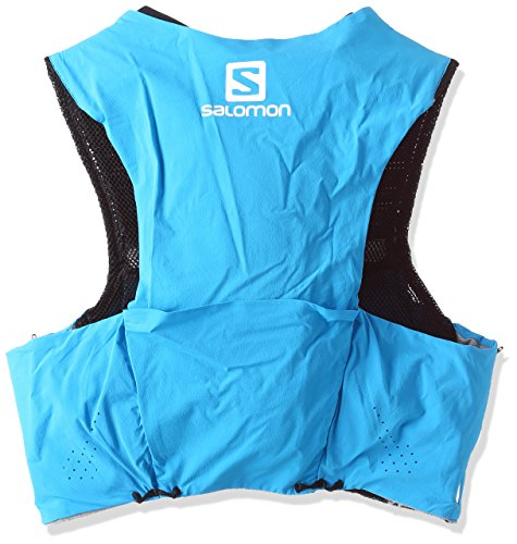 Salomon Unisex S-Lab Sense Ultra 5 Set Backpack, Transcend Blue, Black, L by Salomon (Image #2)