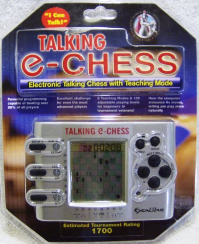 - Excalibur Talking e-Chess Game with Teaching Mode