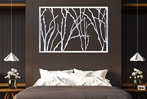 Stainless Steel Abstarct Art Easy to hang for Living Room