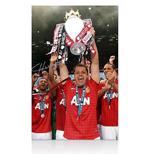 Javier 'Chicharito' Hernandez Signed Manchester United Ph...