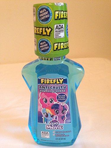 Firefly Melon Blast Flavor Flouride Rinse 8 fl oz