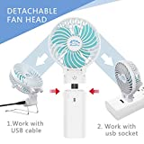 HandFan Powerful Personal Fan Battery Operated with