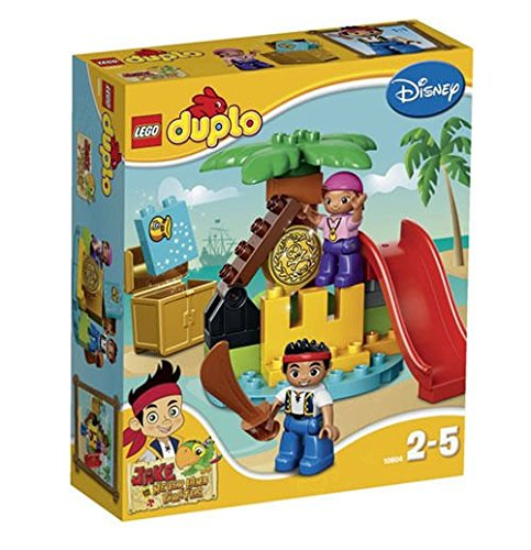 LEGO Duplo 10604 Jake and the Never Land Pirates Treasure 25pcs Set New In Box /item# G4W8B-48Q36931