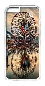 IPhone 6 Plus Case, IPhone 6 Plus Cases Hard Case California Adventure Case For IPhone 6 Plus, IPhone 6 Plus PC Transparent Case