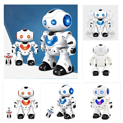 Yeefant Remote Control RC Robots Interactive Musical Walking Singing Dancing Smart Programmable Robotics Electronic Toy for Kids Boys Girls