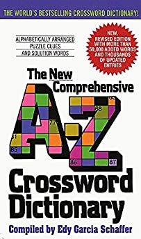 New Comprehensive A-Z Crossword Dictionary  sc 1 st  Amazon.com : the crossword dictionary - 25forcollege.com