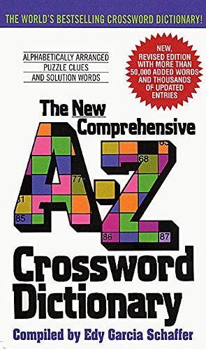Christmas Games Ideas For Work - New Comprehensive A-Z Crossword Dictionary